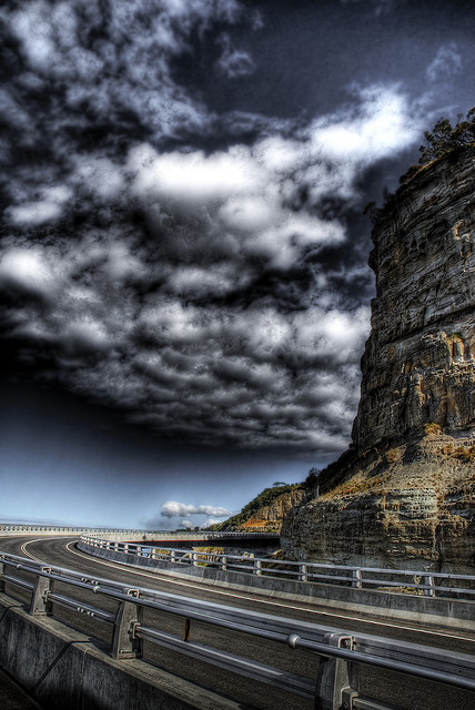 Sea Cliff Bridge HDR 2