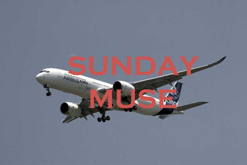 Sunday Muse First Flight